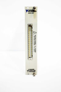 National Instruments Ni Scxi 1121 4 Channel Isolation Amp