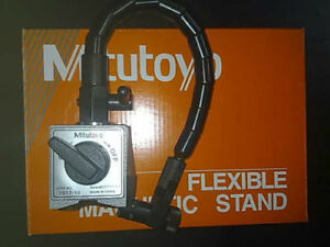 New Mitutoyo Magnetic Base 7012 10 For Dial Indicator Gauges Flexible