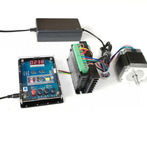 1 2nm Single Axis 57 Stepper Motor Tb6600 Driver Direction Speed Cotroller Kit