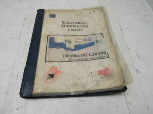 Trumpf L3030s Laser Electrical Schematics Manual Book english