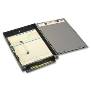 Officemate Recycled Clipboard Storage forms Holder Plastic Side Opening 83353