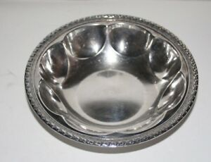 Sterling Silver 925 Old Bon Bon Candy Dish Nut Bowl 6 Scalloped 115g Not Scrap