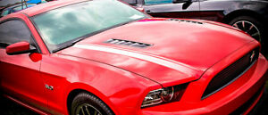 2013 14 Apr Performance Ford Mustang Carbon Fiber Hood Vent