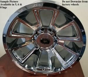 4 New 20 Wheels For Dodge Ram 2500 3500 Truck Hummer H2 Rims 21849
