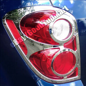 For 2010 2011 12 2013 2014 2015 Chevy Equinox Chrome Tail Light Taillight Covers