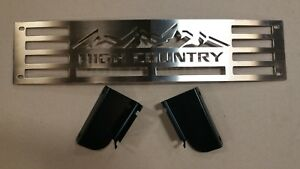 Bumper Grille 2015 2018 Silverado 2500 3500 Hd High Country Brushed Stainless
