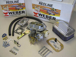 Weber 32 36 Dgev Electric Choke Carburetor Kit For Jeep Cj S Weber New