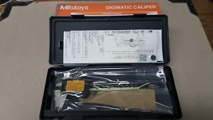 Mitutoyo Digimatic Absolute 6 Caliper 500 196 20 Made In Japan
