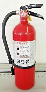 5lb Fire Extinguisher Abc Dry Chemical Kidde Rechargeable
