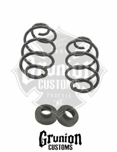 Chevy C10 1960 1972 Rear 3 4 Drop Lowering Coil Springs W Spacers Belltech