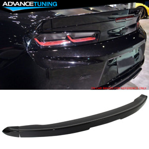 16 19 Chevy Camaro Factory 3 piece Blade Trunk Spoiler Painted Glossy Black