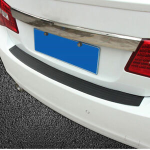 Car Rear Bumper Sill Protector Guard Pad Trim For 2011 2015 Bmw 5 Series F10