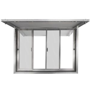 53 X 33 Concession Stand Trailer Serving Window Awning Food Truck Service