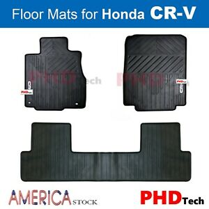 Premium Quality All. Premium Quality All Weather Rubber Car Floor Mats For Honda  Crv ...