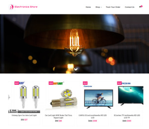 Electronics Store Turnkey Website Business For Sale Profitable Dropshipping