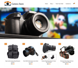 Camera Store Turnkey Website Business For Sale Profitable Dropshipping