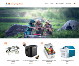 Established Camping Turnkey Website Business For Sale Profitable Dropshipping