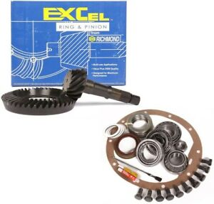 1982 1999 Gm 7 5 7 6 Rearend 4 56 Ring And Pinion Master Install Excel Gear Pkg