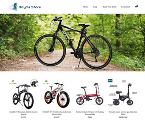 Established Cycle Store Website Business For Sale Profitable Dropshipping