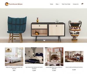 Established Furniture Turnkey Website Business For Sale profitable Dropshipping