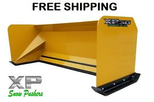 7 Snow Pusher Boxes Free Shipping Skid Steer Backhoe Loader Snow Plow Bobcat
