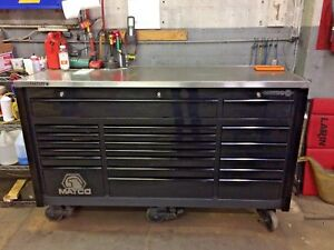 2004 Matco 6s Triple Bay Toolbox Tool Box W Stainless Top Upgrade Excellent