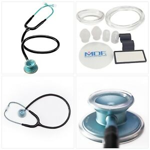 Mdf Acoustica Deluxe Lightweight Dual Head Stethoscope Free parts for life Am