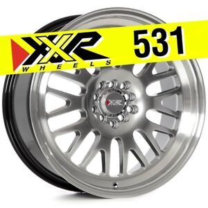 Xxr 531 18x8 5 5 100 5 114 3 35 Chromium Black Wheels Set Of 4