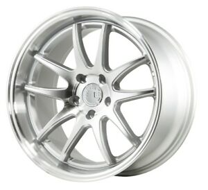 Aodhan Ds02 18x8 5 35 18x9 5 30 5x114 3 Silver Is300 Rx8 Supra Is250 Sc300