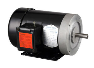 3 4hp Electric Motor 56c 5 8 Shaft 3 Phase 230 460v 1750rpm Tefc New
