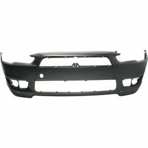 Front Bumper Cover For 2008 2015 Mitsubishi Lancer Standard Type W air Dam Holes