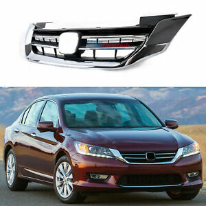 Genuine Radiator Grille Front Bumper Upper Grill For Honda Accord 2013 2015