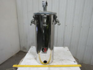 Graco 236151 15 Gallon Stainless Steel Pressure Pot Feed Tank 110psi