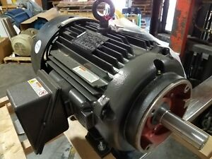 New Marathon 20 Hp 3 Phase Symax Series Motor 460 Volt 2250 Rpm