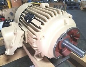 New Marathon 20 Hp 3 Phase Explosion Proof Motor 380 Volt 1465 Rpm
