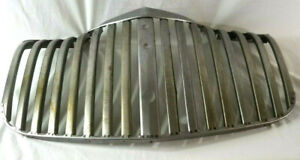 Chevrolet Chevy Truck Grille Grill Non Chrome Upper Lower Sections 1941 46