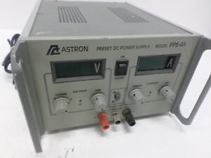 Astron Preset Regulated 0 16vdc 0 4a Continuous Variable Dc Power Supply Pps 4a