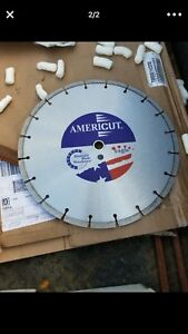 Americut Diamond Blade Concrete Saw Blade 14