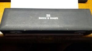 Brown And Sharpe No 496 Vernier Protractor 12 Inch