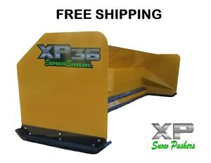 12 Xp36 Jrb 416 Snow Pusher Box For Backhoe Loader Express Free Shipping