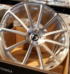 22 Forgiato Flangiato Forged 1 piece Wheels Mercedes S63 S550 Bentley Audi A8