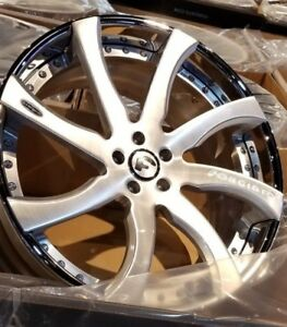 21 22 Forgiato Quattrosimo 3 piece Wheels Mercedes Sl Cls 500 550 63