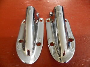 1963 1964 Cadillac Left Right Fender Unity Spotlight Bracket Pair