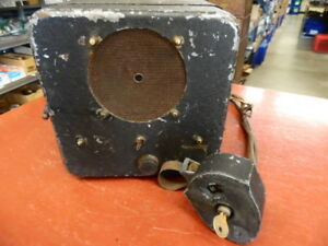 1934 Universal Rca Victor M 105 With Control Unit Am Radio 6 Volt