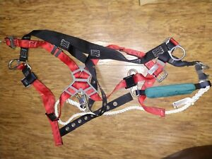 Msa Safety Harness Fall Protection With Dyna Break