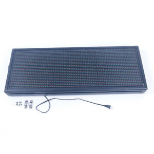 Led Sign 40 x 15 outdoor Programmable Display Diy Open Message Sign Board Us