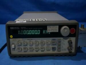 Hp Agilent 33120a 15 Mhz Function arbitrary Waveform Generator W o Handle