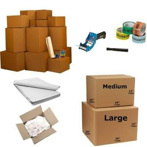 Uboxes Llc Smart Moving Boxes Kit Packing Supplies With Tape