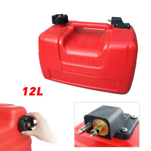 12l 3 2gallon For Yamaha Marine Outboard Portable External Fuel Tank W connector