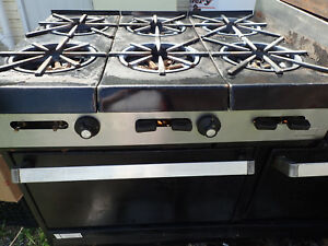Garland Commercial Stove Gas 6 Burner Double Oven